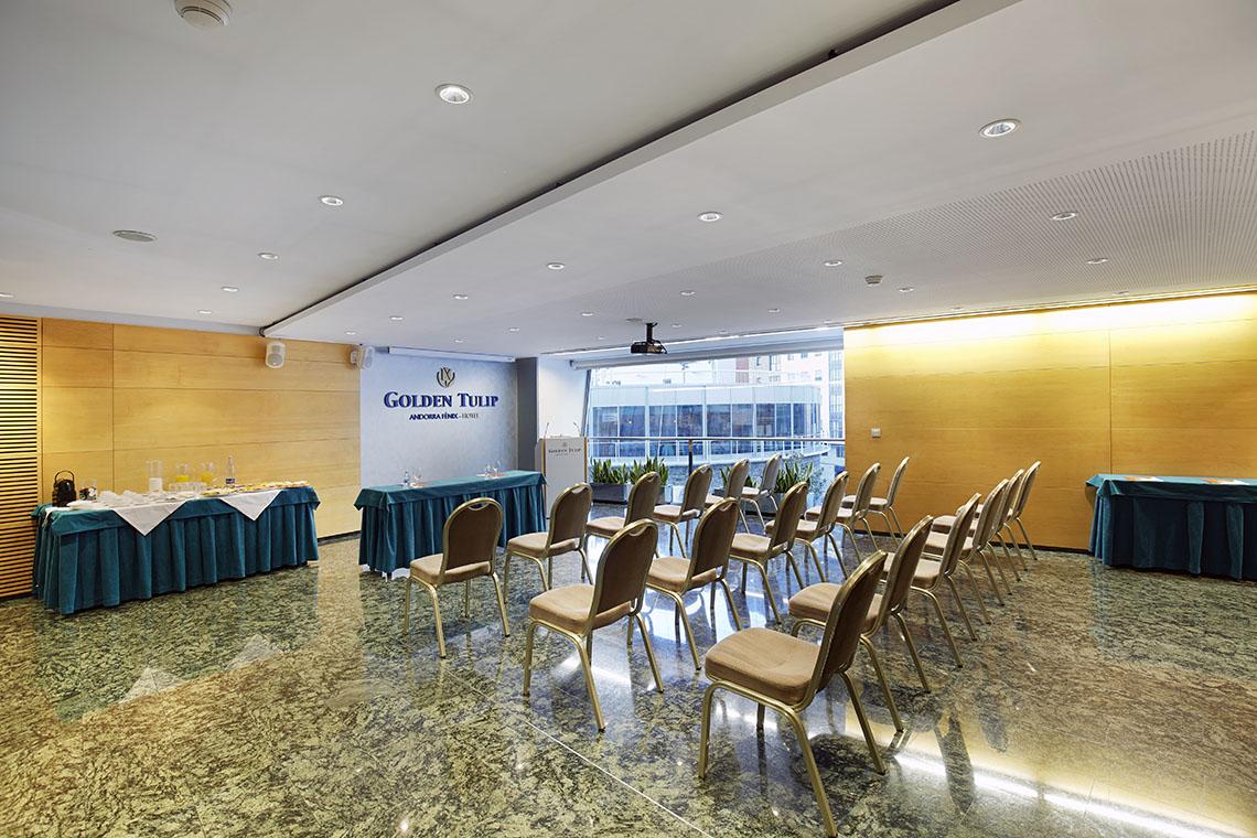 Organiza tus eventos de trabajo en el Golden Tulip Andorra Fènix Hotel