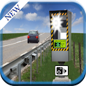 Radar Speed Cam Pro Simulator icon
