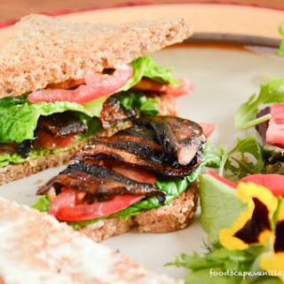 Portobello Mushroom BLT Sandwich [Vegan, Gluten-Free]