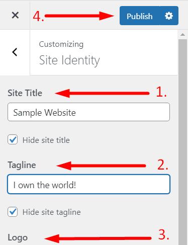 blogging guide: Customize your wordpress theme 2