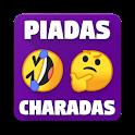 Piadas e Charadas Offline! 😂🤔 icon