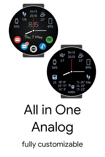 All in One: Analog Android App Screenshot