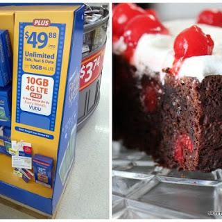 Easy Gluten-Free Black Forest Cake & Walmart Family Mobile Plus!