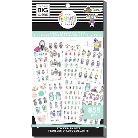 Me & My Big Ideas Happy Planner Sticker Value Pack - Stick Babe Essentials