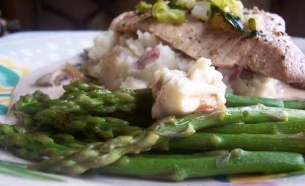 Asparagus With Cashew Butter Recipe