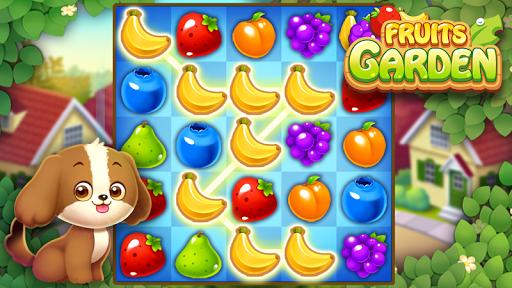 Télécharger Fruits Garden : Jeu de puzzle d'association APK MOD (Astuce) screenshots 1