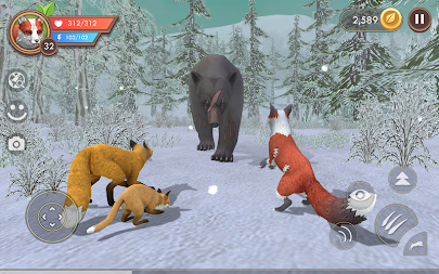 WildCraft: Animal Sim Online 3D APK screenshot thumbnail 2