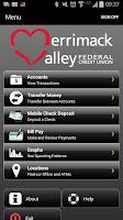 Screenshot of Merrimack Valley FCU