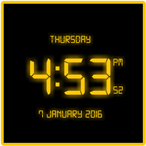Free LED Digital Clock LWP file APK for Gaming PC/PS3/PS4 Smart TV