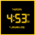 Free LED Digital Clock LWP icon