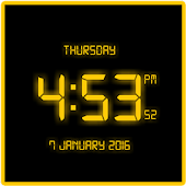 Free LED Digital Clock LWP