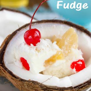 Piña Colada Fudge