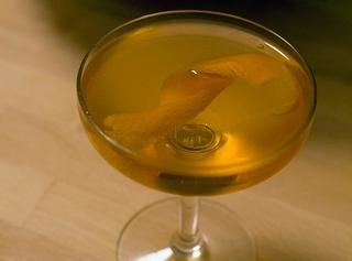 Absinthe Cocktails:  Crysanthemum  2 oz. of dry Vermouth 1 oz. Benedictine 1/4 oz. absinthe  Serve ice cold Garnish with orange...