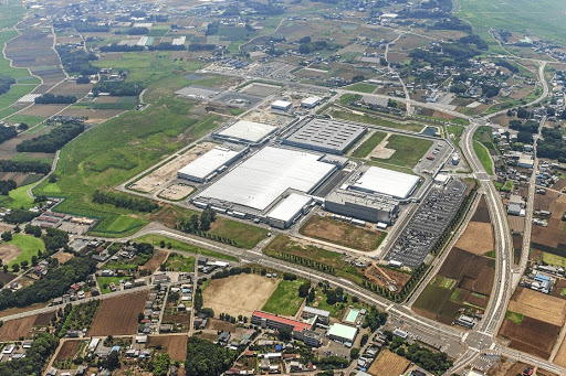 The new Hino manufacturing facility in Japan. Picture: QUICKPIC