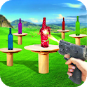 Real Bottle Shooter Game icon