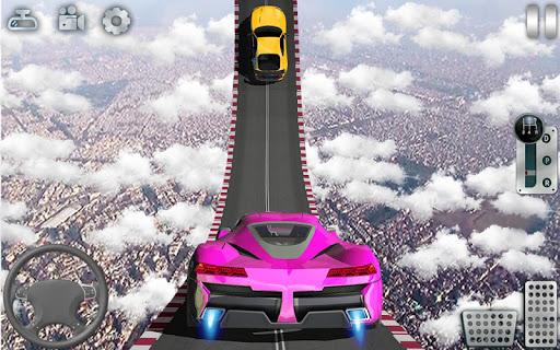 Impossible Tracks Car Stunts Driving: Racing Games apkslow screenshots 10