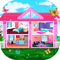 🏡 Girly House Decorating Game icon