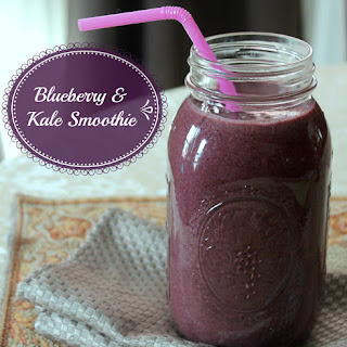 Blueberry and Kale Smoothie Recipe