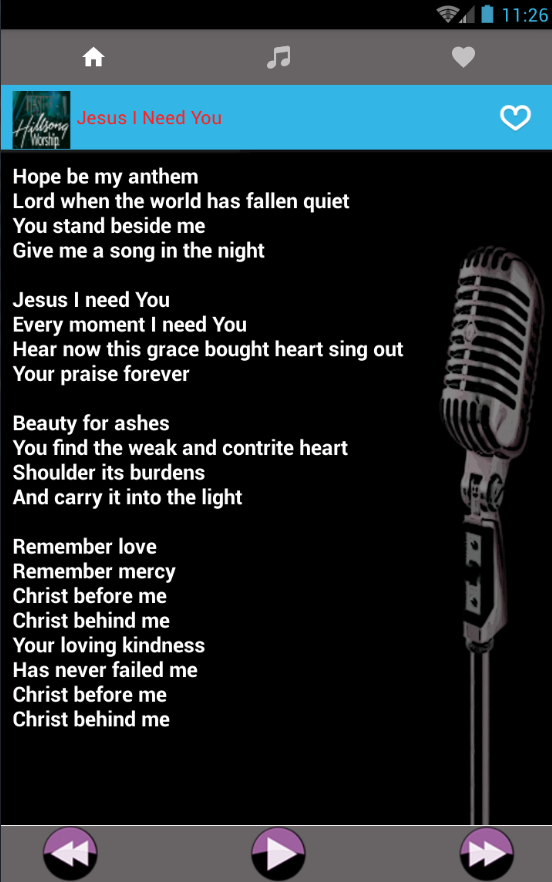 Lyric mercy mercy hillsong lyrics : Hillsong Worship Music and Lyrics New - Android Apps on Google Play