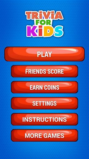 Free Fun Trivia For Kids Quiz