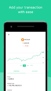Crypto Central - Bitcoin & cryptocurrency tracker - náhled