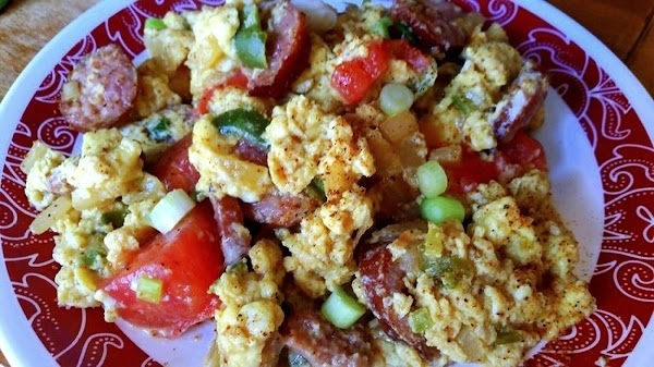 ~ If You Please, Smoked Sausage Scramble ~ Recipe