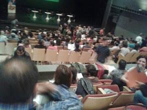 Photo: Públic durant el Plenari del Fòrum