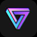 VaporCam-Vintage Camera, Vaporwave Profile Picture icon