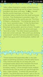 Alcohol Jokes screenshot 1