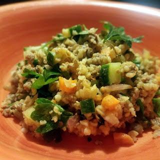 Fresh and Fit Lentil Salad.
