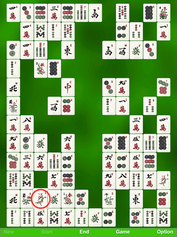zMahjong Concentration Free- screenshot