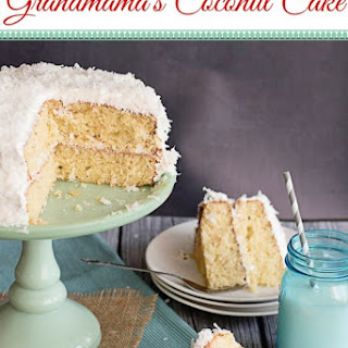 Grandmama'S Coconut Cake with No Fail Seven Minute Frosting Recipe