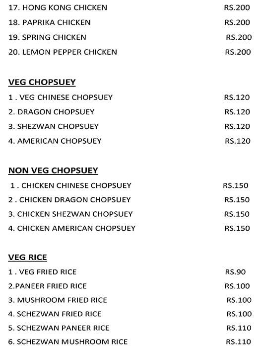 Hunger menu 3