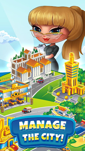 Pocket Tower: Building Game & Megapolis Kings apkdebit screenshots 2