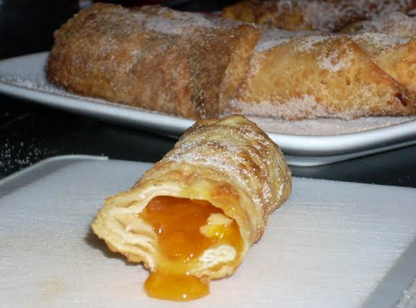 Apricot Cream Cheese Egg Rolls Recipe