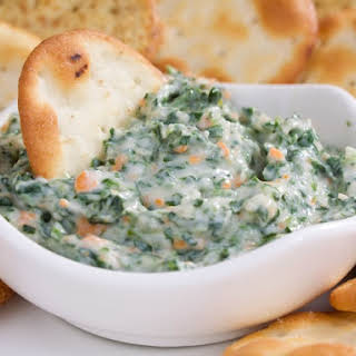 Crab And Shrimp Spinach Dip.