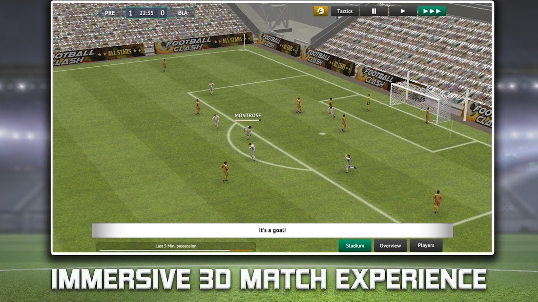 Soccer Manager 2019 - Top Football Management Game Android App Screenshot