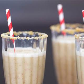Healthy Salted Caramel Milkshake Recipe