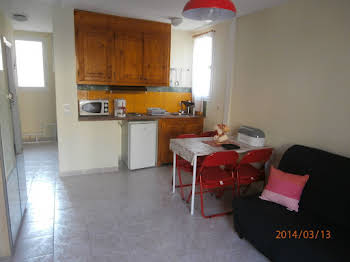 Studio meublé 24,48 m2