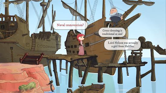 Nelly Cootalot: The Fowl Fleet- screenshot thumbnail