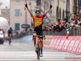 Jan Tratnik wist niet tegen wie hij moest strijden voor de ritzege in de Giro