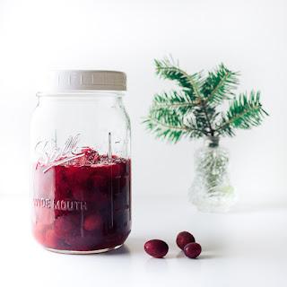 Brandied Cranberries.