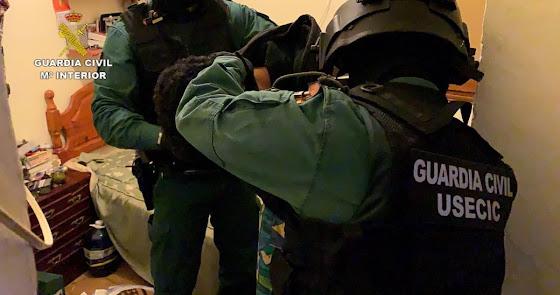 Desarticulado un grupo criminal por robos con violencia en el Levante-Almanzora