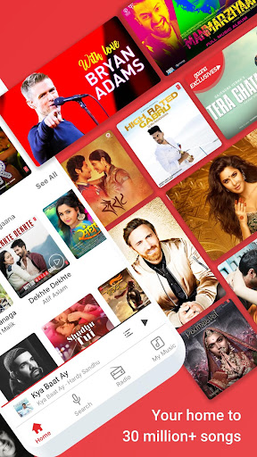 Gaana Music- Hindi English Telugu MP3 Songs Online 8.0.7 screenshots 2