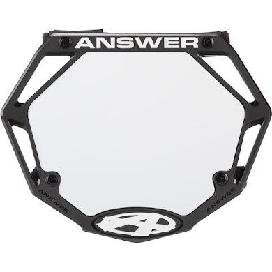 Answer BMX 3D Mini Number Plate