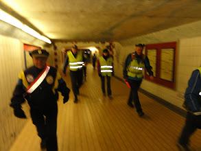 Photo: Onder het station van Doornik