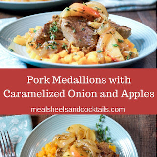 Pork Medallions with Caramelized Onions and Apples Recipe
