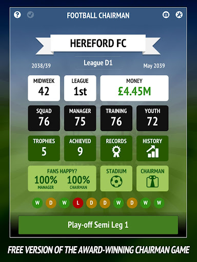 Football Chairman - Build a Soccer Empire 1.3.5 screenshots 6