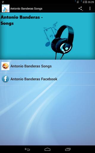 Antonio Banderas Songs