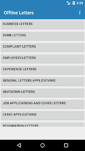Offline Letters & Applications - Apps on Google Play